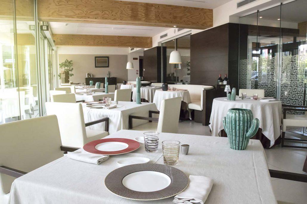 Sala ristorante Evo Bardolino